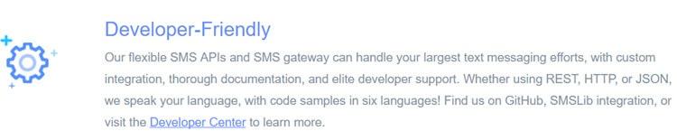 EZ Texting SMS Gateway Developer