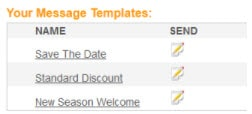 Text Message Marketing Templates