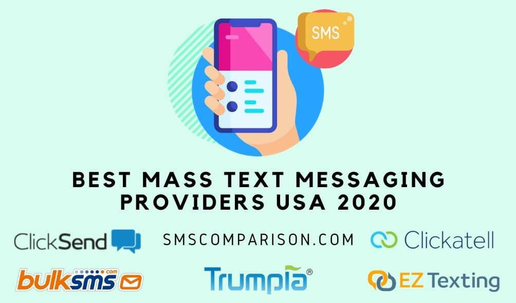 Best Mass Text Message Providers USA 2020