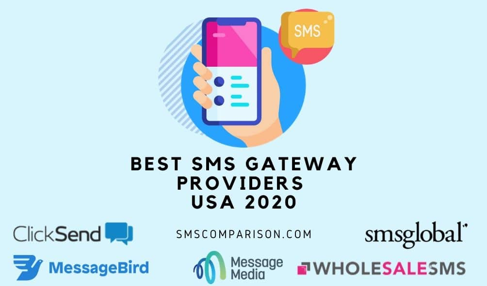 Best SMS Gateway Providers For USA Businesses