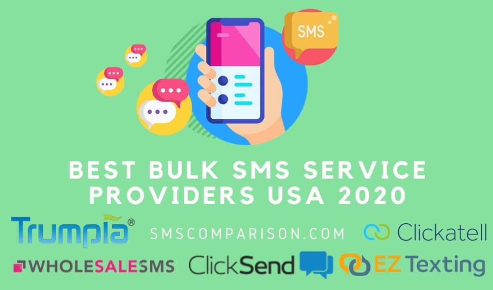 Best Bulk SMS Service Providers For American Businesses In 2020