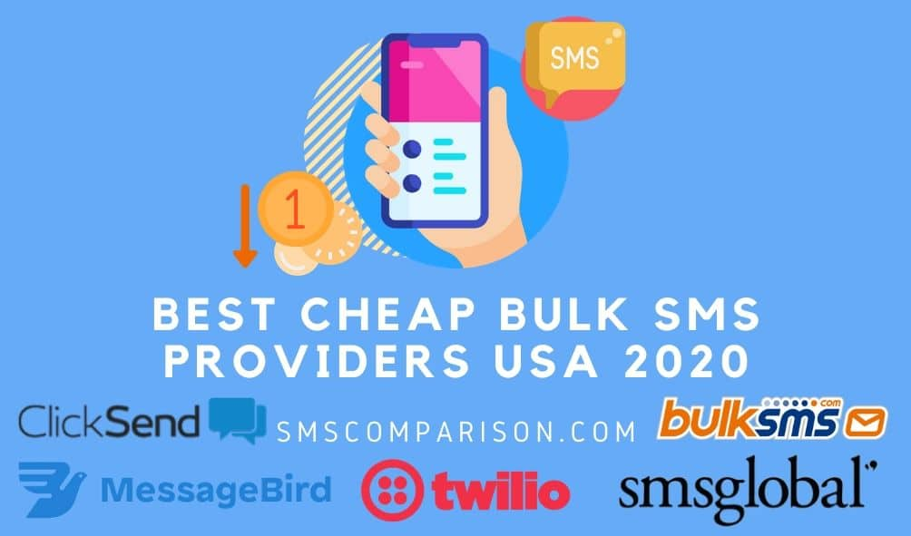 Best Cheap Bulk SMS Providers In USA