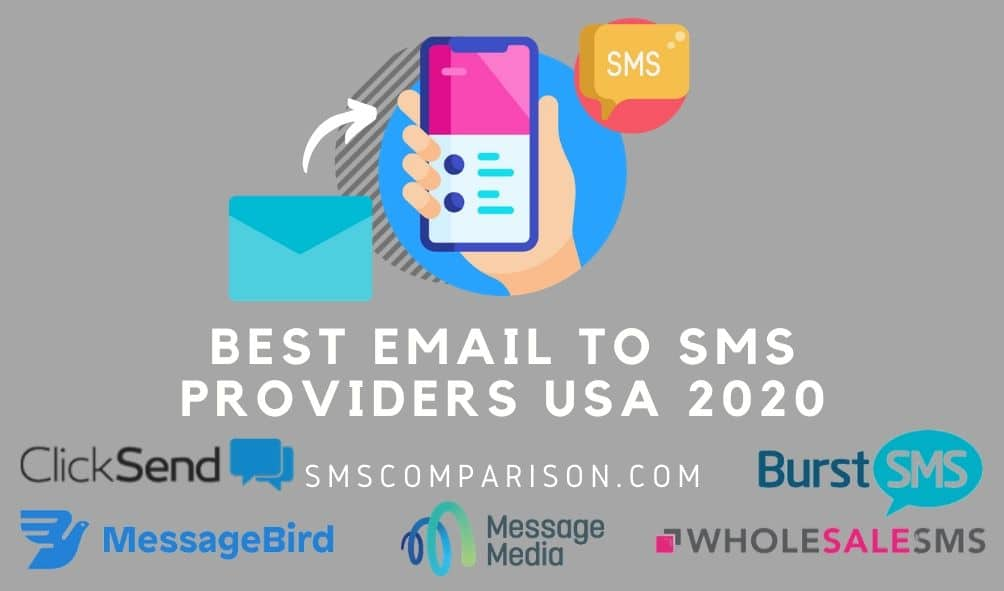 Best Email To SMS Provider For American Businesses 2020